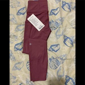 """Lululemon Fast and Free HR 25"""" Tight"""